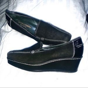 Women's Donald J Palmer Slip-on Italian Shoes 8.5